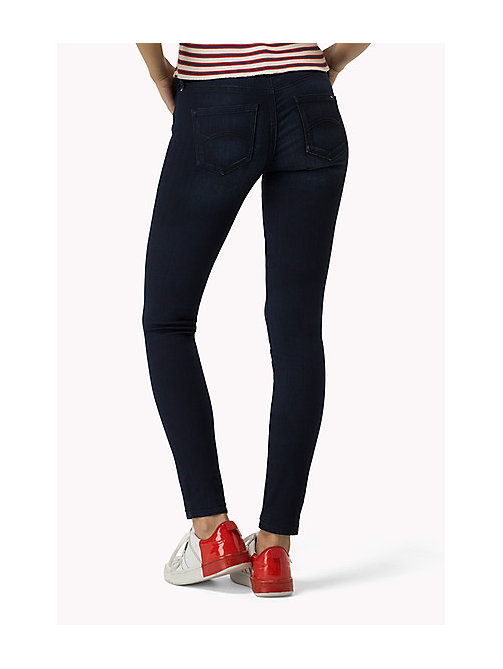 TOMMY JEANS Nora Skinny Fit Jeans - QUEENS BLUE STRETCH -  Clothing - detail image 1