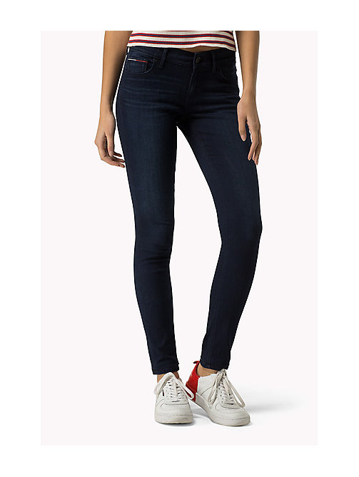 TOMMY JEANS Nora Skinny Fit Jeans - QUEENS BLUE STRETCH - TOMMY JEANS Jeans - main image