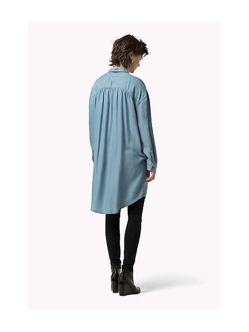TOMMY JEANS Denim Shirt Dress - CHAMBRAY - TOMMY JEANS Dresses, Jumpsuits & Skirts - detail image 1