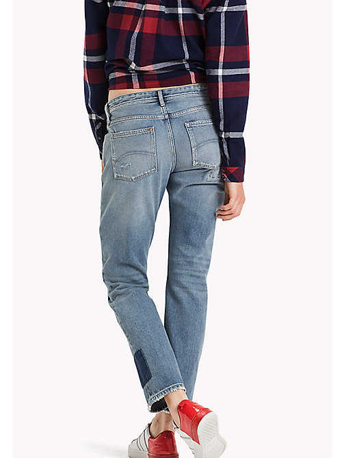 TOMMY JEANS Cropped straight fit jeans - AUTHENTIC PATCHWORK RIGID - TOMMY JEANS Jeans - detail image 1