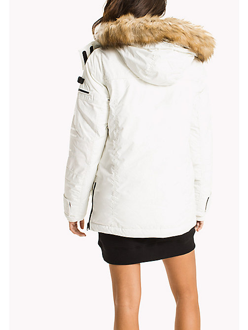 TOMMY JEANS Durable Nylon Arctic Parka - MARSHMALLOW - TOMMY JEANS Coats & Jackets - detail image 1