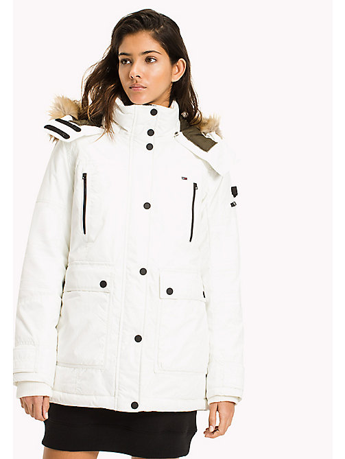 TOMMY JEANS Durable Nylon Arctic Parka - MARSHMALLOW - TOMMY JEANS Coats & Jackets - main image