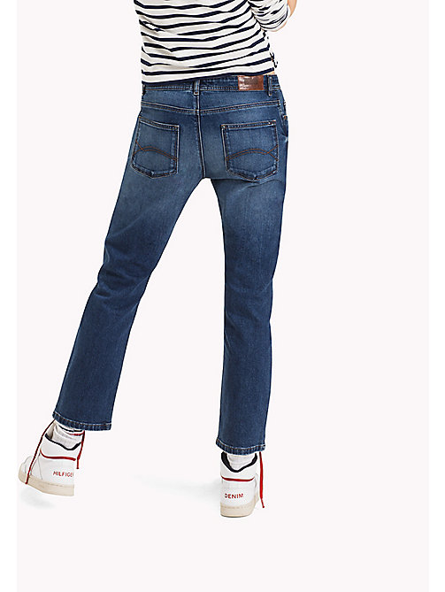TOMMY JEANS Cropped straight fit jeans - WARM MID BLUE COMFORT - TOMMY JEANS Jeans - detail image 1