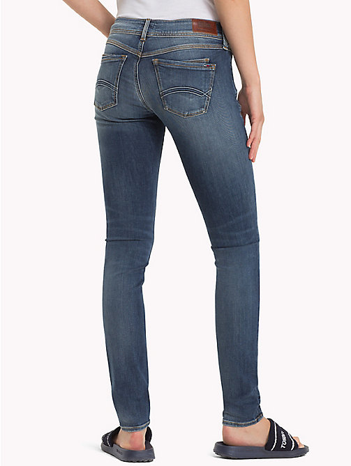 TOMMY JEANS Skinny Fit Jeans - VERMONT MID BLUE STRETCH - TOMMY JEANS Clothing - detail image 1