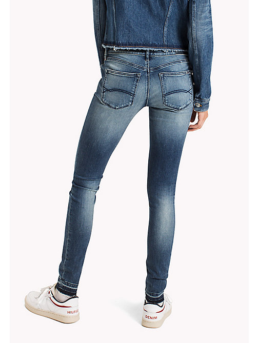 TOMMY JEANS Skinny Fit Jeans - MAINE DARK BLUE STRETCH - TOMMY JEANS Clothing - detail image 1