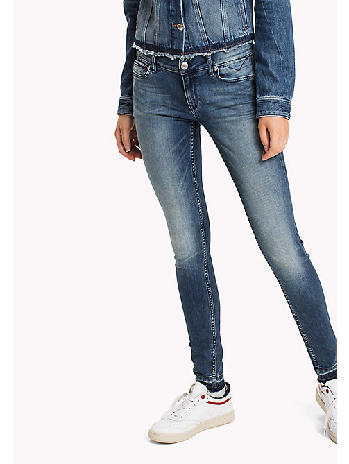 TOMMY JEANS Skinny Fit Jeans - MAINE DARK BLUE STRETCH - TOMMY JEANS TOMMY JEANS WOMEN - main image