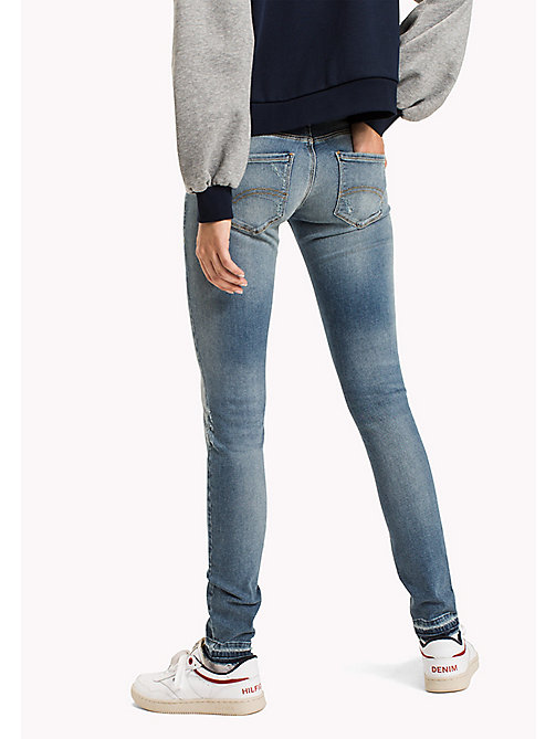 TOMMY JEANS Jeans vestibilità skinny - OREGON LIGHT BLUE STRETCH DESTR. - TOMMY JEANS Jeans - dettaglio immagine 1