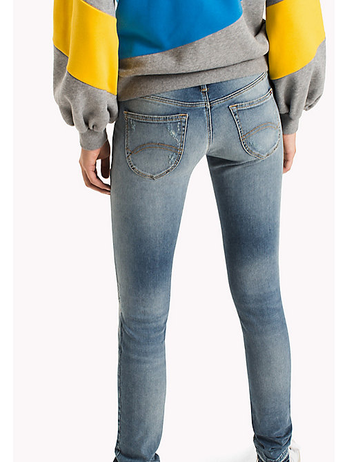 TOMMY JEANS Jeans vestibilità skinny - OREGON LIGHT BLUE STRETCH DESTR. - TOMMY JEANS DONNE - dettaglio immagine 1