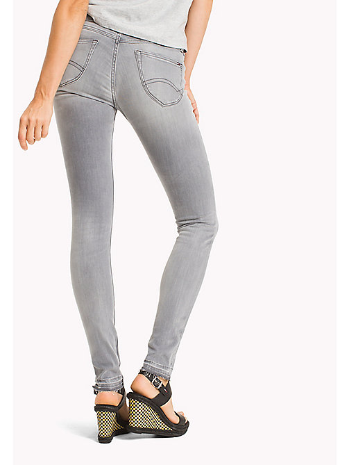 TOMMY JEANS Low Rise Skinny Fit Jeans - HONOLULU GREY STRETCH - TOMMY JEANS Jeans - detail image 1