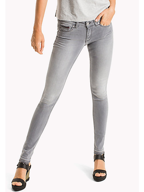 TOMMY JEANS Low Rise Skinny Fit Jeans - HONOLULU GREY STRETCH - TOMMY JEANS DAMES - main image