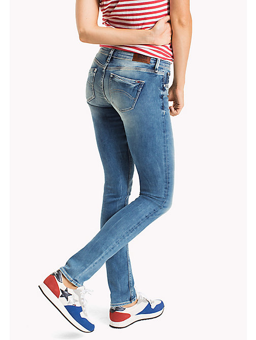 TOMMY JEANS Naomi Slim Fit Jeans - FLORIDA LIGHT BLUE STRETCH - TOMMY JEANS WOMEN - detail image 1