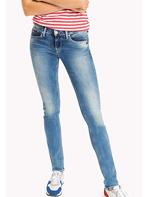 TOMMY JEANS Jeans Naomi slim fit - FLORIDA LIGHT BLUE STRETCH - TOMMY JEANS DONNE - immagine principale
