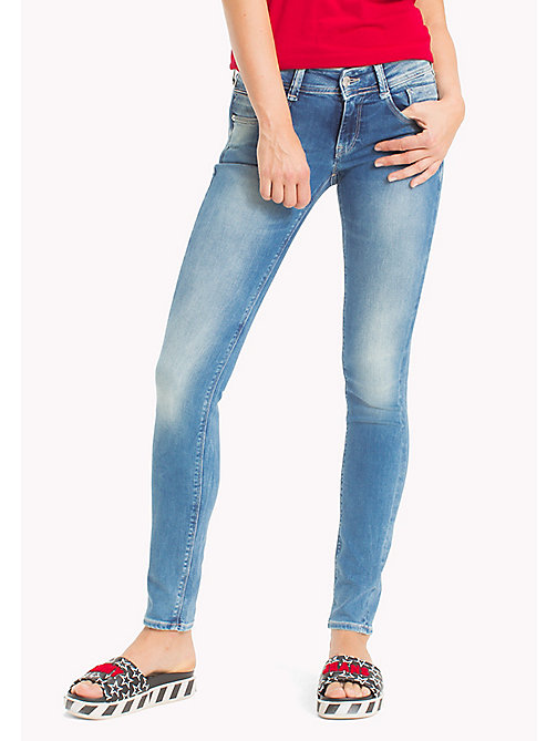 TOMMY JEANS Scarlett Skinny Fit Jeans - FLORIDA LIGHT BLUE STRETCH - TOMMY JEANS TOMMY JEANS WOMEN - main image