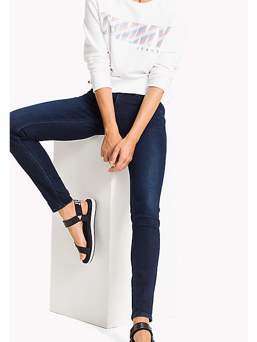 TOMMY JEANS Scarlett Skinny Fit Jeans - FLORIDA DARK BLUE STRETCH - TOMMY JEANS TOMMY JEANS WOMEN - main image
