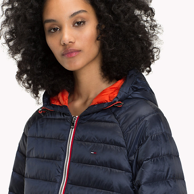 TOMMY JEANS Kurze Daunenjacke - SPICY ORANGE - TOMMY JEANS Kleidung - main image 3