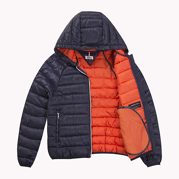 TOMMY JEANS Kurze Daunenjacke - SPICY ORANGE - TOMMY JEANS Kleidung - main image 4