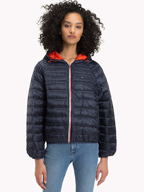 TOMMY JEANS Short Down Jacket - NAVY BLAZER - TOMMY JEANS Coats & Jackets - main image