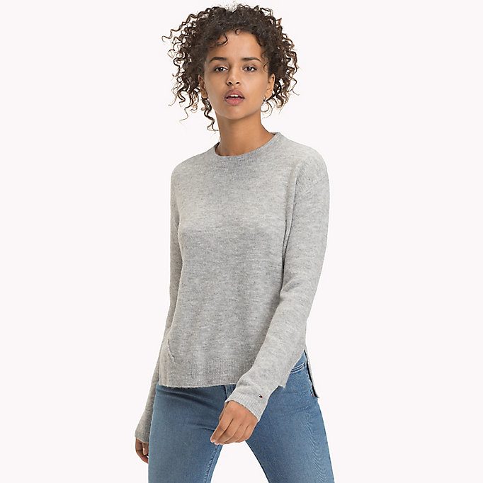 TOMMY JEANS Polyacrylic Blend Jumper - BLUSH - TOMMY JEANS Women - main image