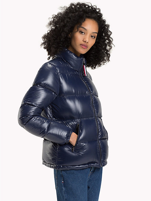 TOMMY JEANS Nylon Down Jacket - NAVY BLAZER - TOMMY JEANS Coats & Jackets - main image