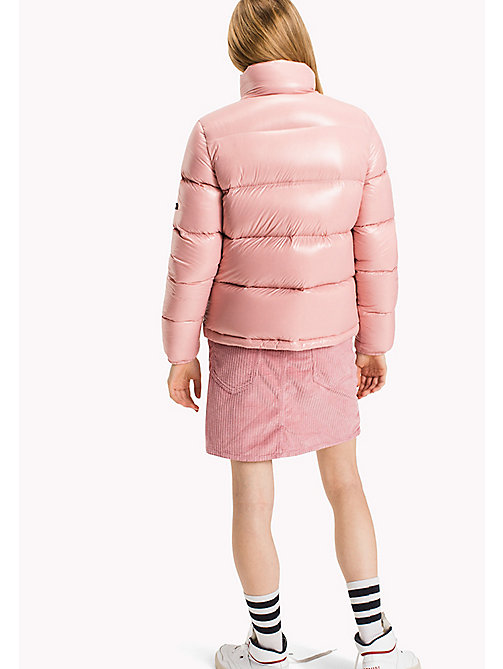 TOMMY JEANS Nylon Down Jacket - BLUSH - TOMMY JEANS Coats & Jackets - detail image 1