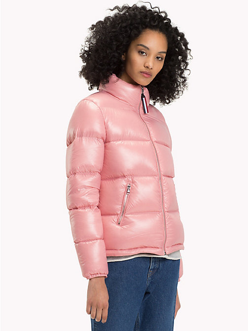 TOMMY JEANS Nylon Down Jacket - BLUSH - TOMMY JEANS Coats & Jackets - main image
