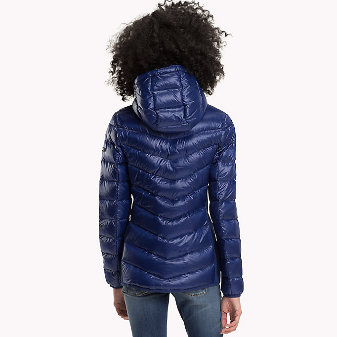 TOMMY JEANS Nylon Down Jacket - NAVY BLAZER - TOMMY JEANS Women - detail image 1