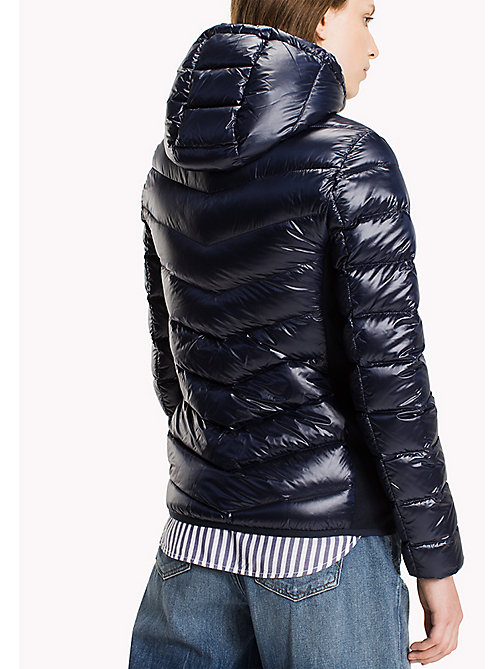 TOMMY JEANS Nylon Down Jacket - BLUE RIBBON - TOMMY JEANS Coats & Jackets - detail image 1