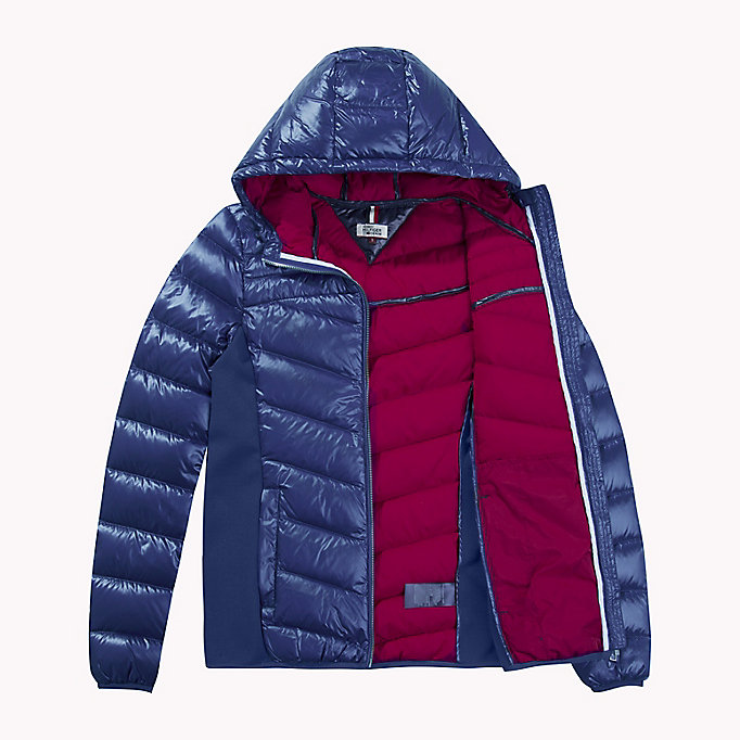 TOMMY JEANS Nylon Down Jacket - NAVY BLAZER - TOMMY JEANS Women - detail image 4