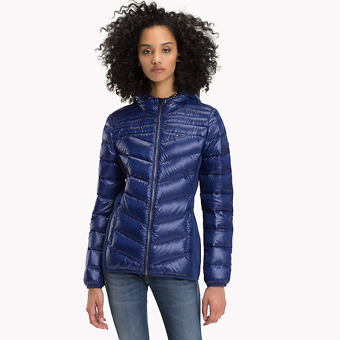 TOMMY JEANS Nylon Down Jacket - NAVY BLAZER - TOMMY JEANS Women - main image