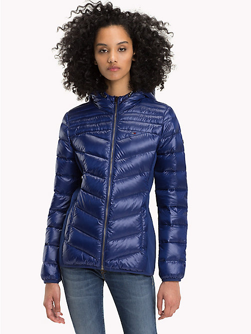 TOMMY JEANS Nylon Down Jacket - BLUE RIBBON - TOMMY JEANS Coats & Jackets - main image