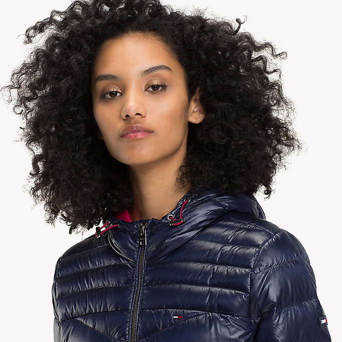 TOMMY JEANS Nylon Down Jacket - PERSIAN RED - TOMMY JEANS Women - detail image 3
