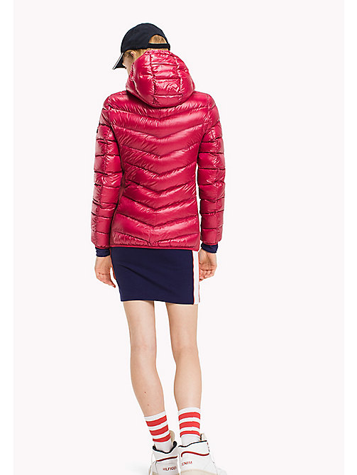 TOMMY JEANS Nylon Down Jacket - PERSIAN RED - TOMMY JEANS Coats & Jackets - detail image 1