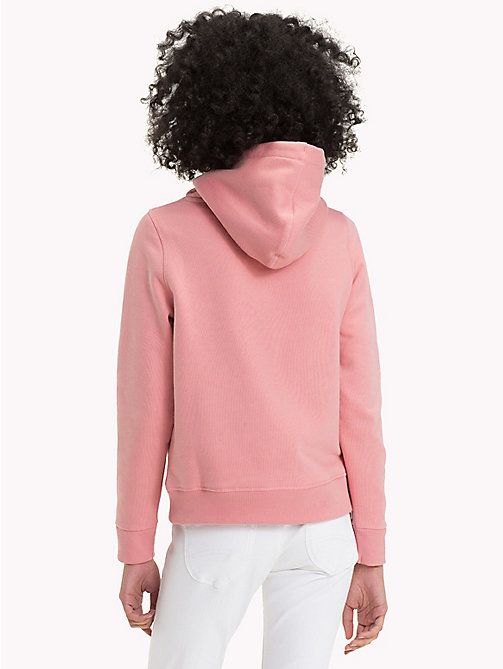 TOMMY JEANS Terry Zip Hoodie - BLUSH - TOMMY JEANS Hoodies & Sweatshirts - detail image 1