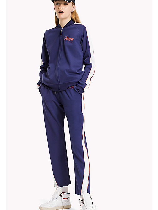 TOMMY JEANS Viscosemix trainingsjack - BLUE RIBBON / BRIGHT WHITE - TOMMY JEANS Kleding - main image