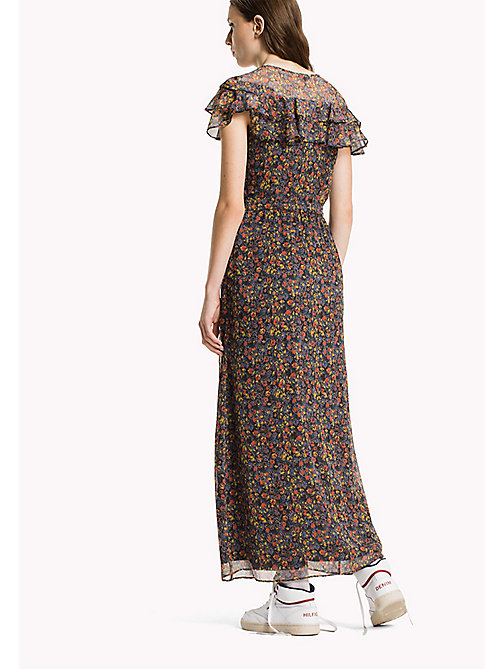 TOMMY JEANS Polyester Crepe Maxi Dress - DITSY FLOWER - TOMMY JEANS Dresses & Jumpsuits - detail image 1