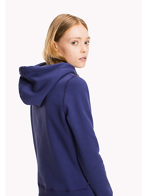 TOMMY JEANS Terry Retro Logo Hoodie - BLUE RIBBON - TOMMY JEANS Hoodies & Sweatshirts - detail image 1