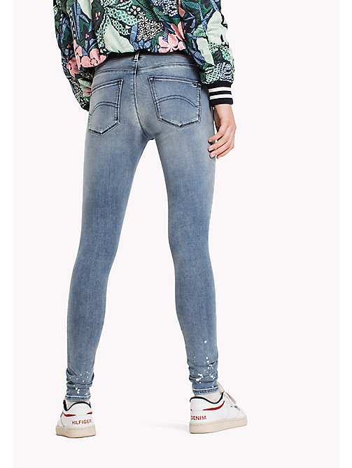 TOMMY JEANS Skinny Fit Jeans - PAINT SPOT LIGHT STRETCH - TOMMY JEANS TOMMY JEANS WOMEN - detail image 1