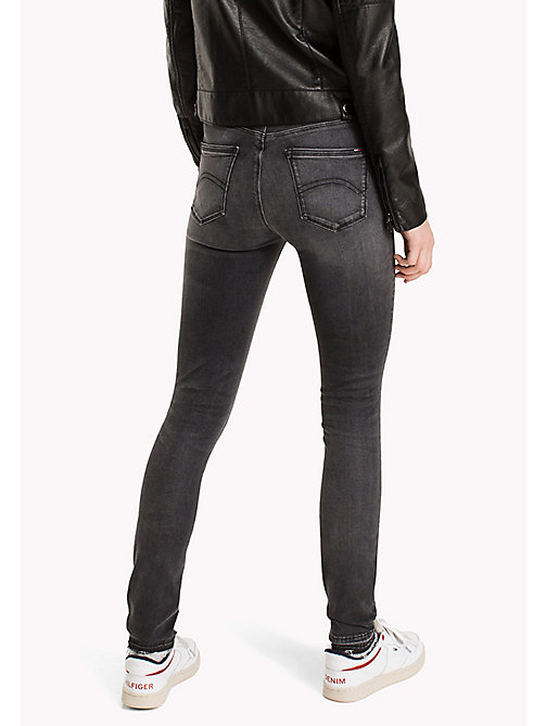 TOMMY JEANS Skinny Fit Jeans - DYNAMIC POLK BLACK STRETCH - TOMMY JEANS Clothing - detail image 1