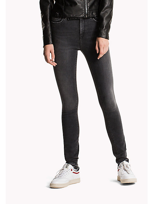 TOMMY JEANS Skinny Fit Jeans - DYNAMIC POLK BLACK STRETCH - TOMMY JEANS TOMMY JEANS WOMEN - main image