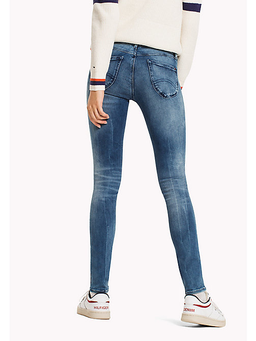 TOMMY JEANS Skinny Fit Jeans - DYNAMIC LINCOLN LIGHT BLUE STRETCH - TOMMY JEANS WOMEN - detail image 1