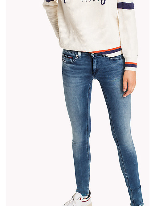 TOMMY JEANS Skinny Fit Jeans - DYNAMIC LINCOLN LIGHT BLUE STRETCH - TOMMY JEANS TOMMY JEANS WOMEN - main image