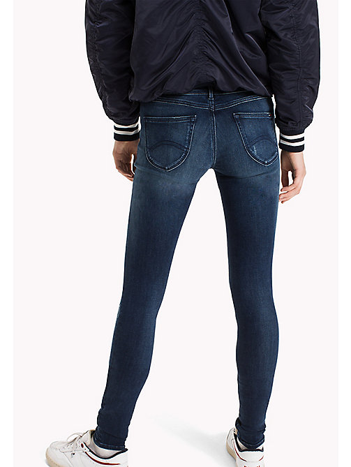 TOMMY JEANS Skinny Fit Jeans - DYNAMIC GRANT DARK BLUE STRETCH - TOMMY JEANS TOMMY JEANS WOMEN - detail image 1