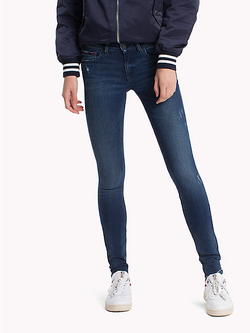 TOMMY JEANS Skinny Fit Jeans - DYNAMIC GRANT DARK BLUE STRETCH - TOMMY JEANS TOMMY JEANS WOMEN - main image