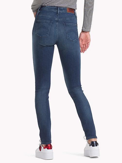 TOMMY JEANS Skinny Fit Jeans - DYNAMIC GRANT DARK BLUE STRETCH - TOMMY JEANS Clothing - detail image 1