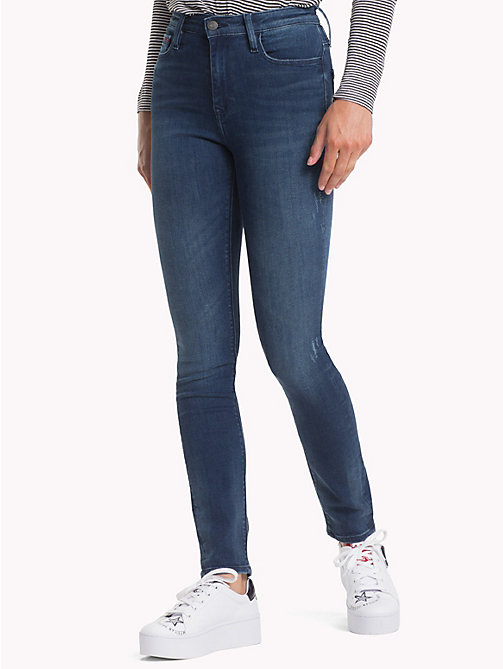 TOMMY JEANS Skinny Fit Jeans - DYNAMIC GRANT DARK BLUE STRETCH - TOMMY JEANS Clothing - main image