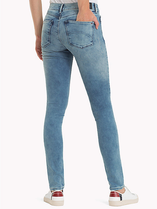 TOMMY JEANS Dynamic Stretch Skinny Fit Jeans - DYNAMIC BALMY LIGHT BLUE STRETCH DESTRUC - TOMMY JEANS Clothing - detail image 1