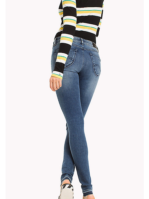 TOMMY JEANS Dynamic Stretch Low Rise Skinny Fit Jeans - DYNAMIC CORA MID BLUE STRETCH - TOMMY JEANS Jeans - detail image 1