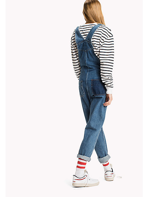 TOMMY JEANS Straight Fit Dungaree - WORKWEAR MID BLUE RIGID - TOMMY JEANS Jeans - detail image 1