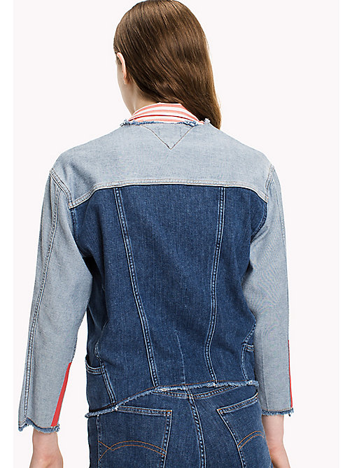 TOMMY JEANS Denim Patchwork Jacket - FRESH POP BLUE COMFORT - TOMMY JEANS Coats & Jackets - detail image 1