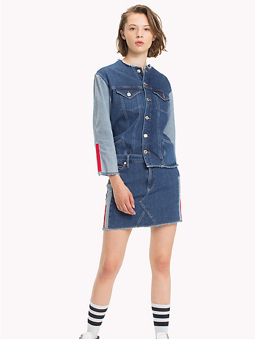 TOMMY JEANS Denim Fitted Skirt - FRESH POP BLUE COMFORT -  Skirts - main image